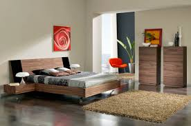 Modern Wood Queen Bed Bedroom Contemporary Furniture Really Cool Beds For Teenage Boys