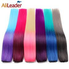 Color Extensions For Hair by Online Get Cheap Rainbow Hair Extensions Aliexpress Com Alibaba