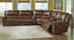 Leather Reclining Sofa With Chaise by Furniture Leather Sectional Sofa Leather Reclining Sectional