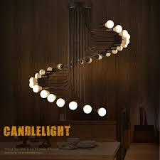 high ceiling light fixtures lukloy loft modern pendant lights iron spiral staircase modern