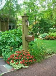 Mailbox Flower Bed 34 Best Mailbox Images On Pinterest Mailbox Garden Mailbox