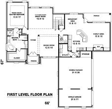 european style house plan 4 beds 3 50 baths 3750 sq ft plan 81 1039