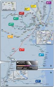 Train Map New York by Transportation In Secaucus Nj