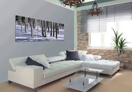 how to hang canvas art without frame white snow forest modern canvas art wall decor landscape canvas