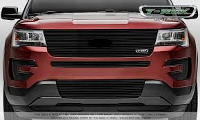 Ford Explorer Custom - 2016 ford explorer is beaming confidence with new t rex grilles