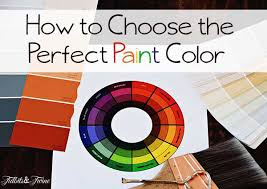how to pick the perfect wall color tidbits u0026twine