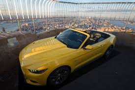 frozen mustang ford mustang in photos photos abc news