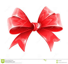 bow for gift decoration royalty free stock photos