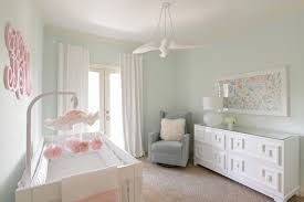 Green Nursery Decor S Nursery Contemporary With Mint Green White And