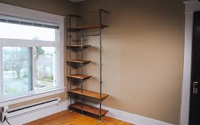 Steel Pipe Shelving by Gas Pipe Storage Solution Home Improvement Projects To Inspire