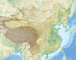 China On Map by List Of Saltwater Lakes Of China Wikipedia