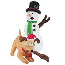 Amazon Animated Christmas Decorations by Outdoor Christmas Decorations Dog Amazon Com