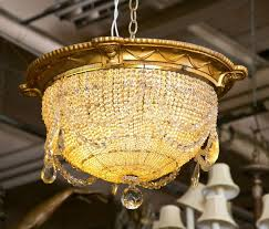 chandelier nyc antique beaded dome chandelier from strand theatre nyc at