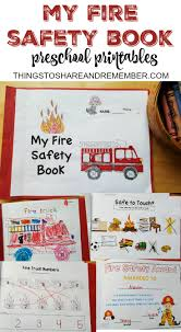 Printable Pumpkin Books For Preschoolers by Preschool Fire Safety Booklet Printables Fire Safety Fire