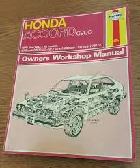 honda accord cvcc 1976 thru 1982 haynes auto repair manual book