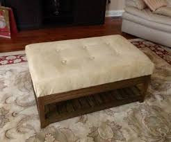 Table Ottoman Custom Coffee Table Ottoman 11 Steps With Pictures