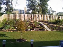 Country Backyard Landscaping Ideas by Steep Sloped Back Yard Landscaping Ideas Should We Install A
