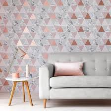What Colors Are In For 2017 Contemporary Wallpaper Trends