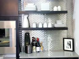 Stainless Steel Tiles For Kitchen Backsplash Peel And Stick Stainless Steel U2013 Instavite Me