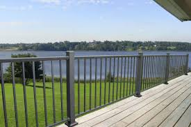 prestige aluminum complete railing panels deckexpressions com
