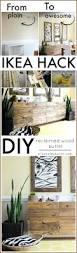 Diy Ikea Nornas by Ikea Hacks Diy Reclaimed Wood Buffet