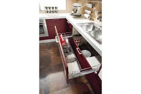 tiroir pour meuble de cuisine meuble avec tiroir coulissant simple rangement cuisine les meubles