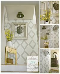 stair decorating ideas diy show off bungalow magazines and hall