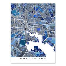 map of maryland to print baltimore map print maryland usa maps as