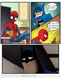 Funny Spider Man Memes - batman vs spiderman funny pictures