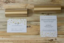 paper for invitations how to add gold to diy wedding invitations mountain modern