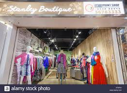 china hong kong stanley market women u0027s clothing shop stock