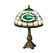 green bay packers lights green bay packers stained glass tiffany style table l green bay