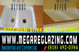 Kitchen Sinks Reglazing Painting Repair Refinishing Los Angeles - Reglazing kitchen sink
