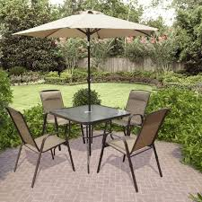 Patio Dining Sets With Umbrella Patio Dining Set Wpatio Dining Set With Umbrellaith Umbrella