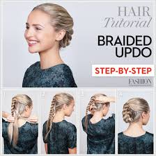 updos for long hair i can do my self braided updo tutorial learn how to do this sleek holiday