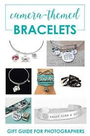themed bracelets themed jewelry for women great photographer gifts snap