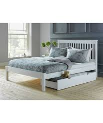 small double bed frames city block modern charcoal black metal bed