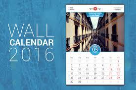 wall calendar 2016 by antartstock on creative market creative