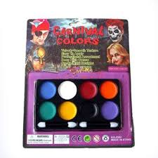 8 colors halloween carnival face paint body painting color at banggood