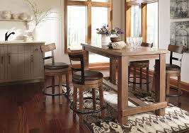 how high is a counter height table 5 stylish counter height table styles ashley furniture homestore