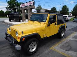 2004 jeep mpg 2004 jeep wrangler unlimited 4wd 2dr suv in c hill pa i deal