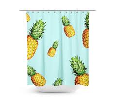 pineapple delight shower curtain shopcabin