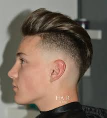 asymmetrical mens haircut new hairstyles for men with a receding