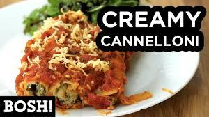 cuisine bosh cannelloni bosh vegan recipe