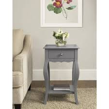 Small Accent Table Ameriwood Home Kennedy Accent Table Gray Walmart