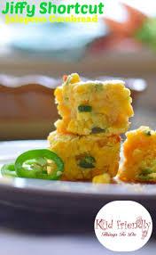 shortcut jiffy jalapeno u0026 cheddar mexican cornbread recipe