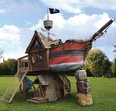 Kids Backyard Play by Pirate Ship Play House Design Adding Fun To Kids Backyard Ideas