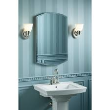 Kohler Bathroom Design Bathroom Vertical Striped Walls With Vanity Sconces And Kohler