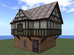 second life marketplace re tudor house 2 story cottage home