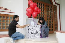 balloon in a box delivery box helium balloon delivery in delhi ncr